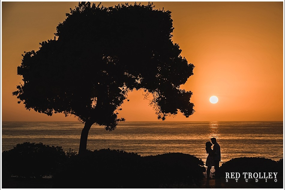 Engagement photo session in Del Mar, South California | Wing and Michael