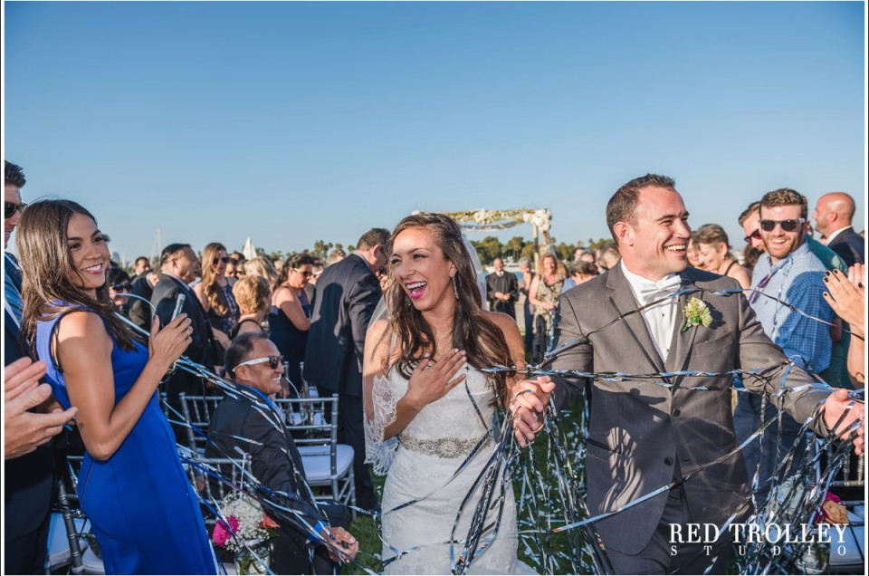 Wedding in Coronado Community Center | Alex & Becky