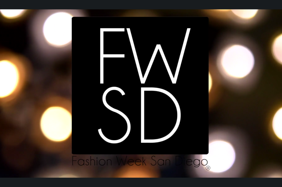 Fashion Week San Diego 2016 Showcase photo shoot