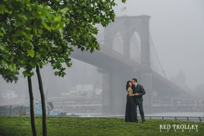 Engagement Photo Session at Brooklyn Bridge Park in New York | Thanassi and Kate