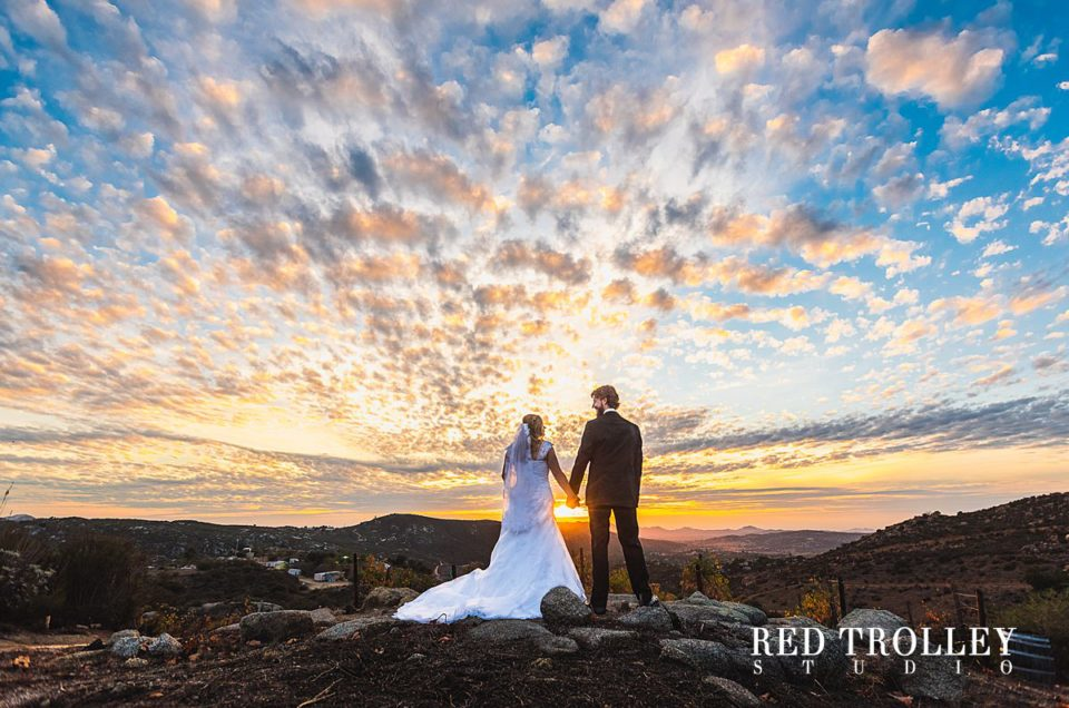 Fall wedding in Milagro Winery in Ramona, California | Melanie & Paul